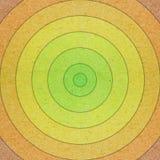 Gekleurd Document dat in cirkelsachtergrond wordt gesneden Stock Fotografie