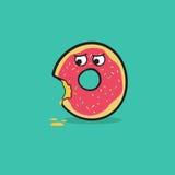 Gekleurd donuts Vector Illustratie