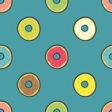 Gekleurd donuts Royalty-vrije Illustratie