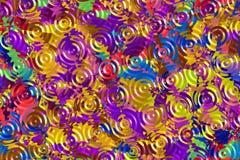 Gekleurd Glas Royalty-vrije Stock Foto