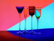 Gekleurd Glas stock illustratie