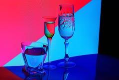 Gekleurd Glas vector illustratie
