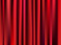 Gekleurd Gordijn Stock Foto