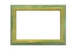 Gekleurd houten frame Royalty-vrije Stock Afbeelding