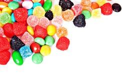 Gekleurd jellybeans Royalty-vrije Stock Foto