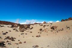 Gekleurd landschap op hoge temperatuur Stock Foto