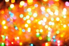 Gekleurd licht Stock Foto