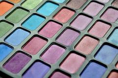 Gekleurd maak omhoog uitrusting voor vrouwen Stock Foto