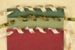 Gekleurd met de hand gemaakt document Stock Fotografie