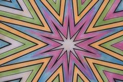 Gekleurd mozaïek Royalty-vrije Stock Foto's
