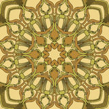 Gekleurd naadloos patroon Stock Afbeelding