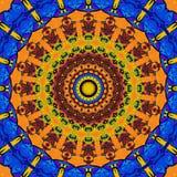 Gekleurd netto patroon Stock Fotografie