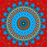 Gekleurd netto patroon Stock Foto