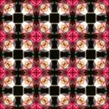 Gekleurd netto patroon Royalty-vrije Stock Afbeeldingen