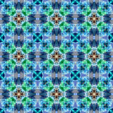 Gekleurd netto patroon Royalty-vrije Stock Fotografie