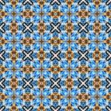Gekleurd netto patroon stock illustratie