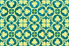 Gekleurd ornament Royalty-vrije Stock Afbeeldingen