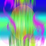 Gekleurd ovaal Stock Foto's