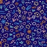 Gekleurd patroon Stock Foto