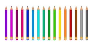 Gekleurd pecils Royalty-vrije Stock Foto