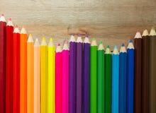 Gekleurd potlood Royalty-vrije Stock Afbeelding