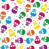 Gekleurd skul patroon vector illustratie