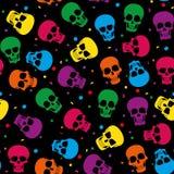 Gekleurd skul patroon Stock Foto's