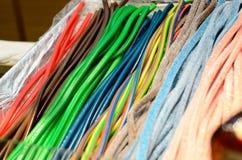 Gekleurd Spaghettisuikergoed stock afbeeldingen