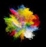 Gekleurd stof Stock Foto