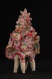 Gekleurd stuk speelgoed van klei Royalty-vrije Stock Foto