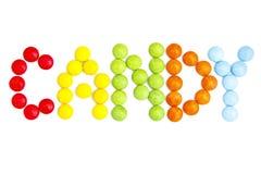 Gekleurd Suikergoed Stock Fotografie