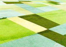 Gekleurd tapijt Stock Foto's