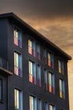 Gekleurd venster stock afbeelding