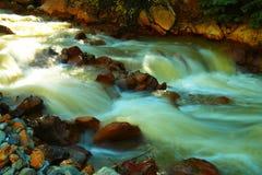 Gekleurd water Stock Foto's