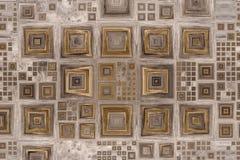 Gekleurde abstracte houten textuur Stock Foto's