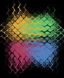 Gekleurde abstracte textuur. Royalty-vrije Stock Afbeelding