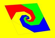Gekleurde achtergrond stock illustratie