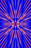 Gekleurde Achtergrond De stralen divergeren van het midden aan de randen royalty-vrije illustratie