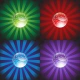 Gekleurde Achtergrond met Gebied Stock Afbeeldingen
