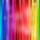 Gekleurde achtergrond met stardust Stock Afbeeldingen