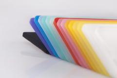 Gekleurde Acrylfoto Royalty-vrije Stock Afbeelding
