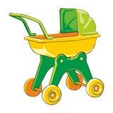 Gekleurde baby-auto Stock Afbeelding