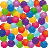 Gekleurde Ballen Royalty-vrije Stock Fotografie