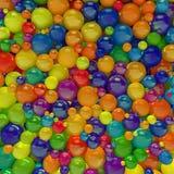 Gekleurde Ballen Royalty-vrije Stock Foto's