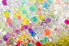 Gekleurde ballenachtergrond Royalty-vrije Stock Foto's