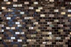 Gekleurde, berijpte en verglaasde keramische tegel Achtergrond, Textuur Stock Afbeelding