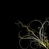Gekleurde bloemornamenten Royalty-vrije Stock Foto's