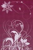 Gekleurde bloemornamenten Royalty-vrije Stock Fotografie