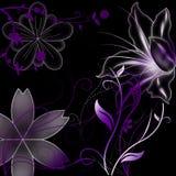 Gekleurde bloemornamenten Royalty-vrije Stock Afbeelding
