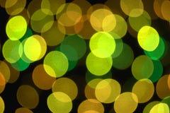 Gekleurde bokeh achtergrond Stock Afbeelding